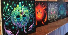Jeff Soto's Seeker Friends Elements!!! Available now Spring!! Such a cheerful little dude!!!