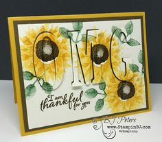Painted Harvest is a must have bundle.  Check out this eclipse card!  #stampinBJ.com