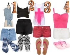 """""""which outfit for summer"""" by alex458 ❤ liked on Polyvore"""