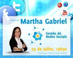 Núcleo Web da Acib promove Palestra com Martha Gabriel - Gestão de Redes Sociais