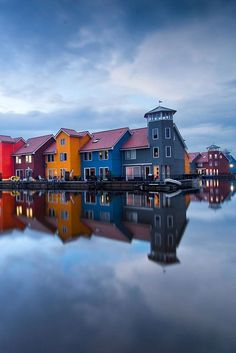Dusk, The Netherlands www.makesellgrow.com#travel#leisure