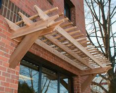 Pergola How to Build a Longhouse   That is kind of what I thought. That picture is pushing 2' cantilever ...