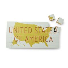UNITED STATES OF AMERICA BLOCK SET | United States of America Block Set | UncommonGoods