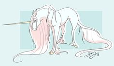 Unicorn by Famosity.deviantart.com on @deviantART