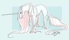 Unicorn by Famosity.deviantart.com on @deviantART