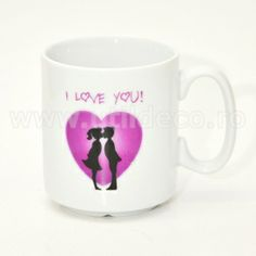 Cana personalizata I Love You I Love You, My Love, Mugs, Gifts, Te Amo, Presents, Je T'aime, Tumblers, Mug
