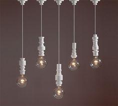 Beautiful lighting pieces by Italian designer Alessandro Zambelli. More industrial design inspiration via Knstrct