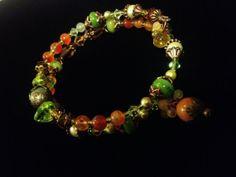 Jewelry Bracelet Stacked Bangle Bracelet by oldredmaredesigns, $25.25