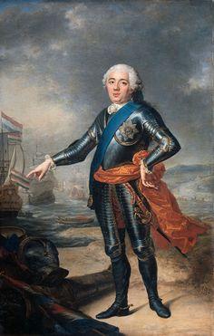 https://flic.kr/p/7akJFw | Aved, Jacque Andre (1702-1766) - 1751 Willem IV Prince of Oranje-Nassau (Rijksmuseum, Amsterdam) |