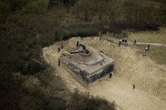 Cyprien Gaillard. DUNEPARK, 2009. BUNKER FROM WORLD WAR II IN DUINDORP, THE HAGUE, NETHERLANDS