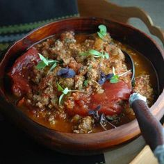 Low-fat turkey chili recipe from celeb trainer David Kirsch. He told us it's one of us his fall faves!