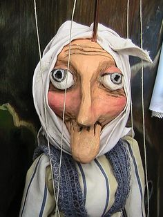 Czech Marionette by GuyandGirlTravels, via Flickr