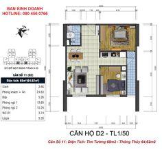 TNR Holdings trân trọng gửi đến quý khách hàng thiết kế chi tiết căn hộ chung cư Goldsilk Complex 430 Vạn Phúc, Hà Đông.