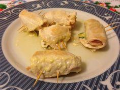 #involtini di petto di #pollo con #bacon e #zucchine (#ricetta #secondopiatto)   Un Avvocato ai Fornelli