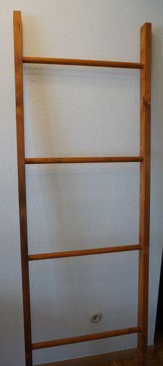 bambusleiter handtuchhalter bad deko natur. Black Bedroom Furniture Sets. Home Design Ideas