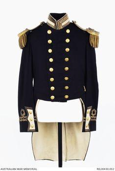 Naval officers full dress coat : Lieutenant G A Hill, Royal Naval Reserve | Australian War Memorial