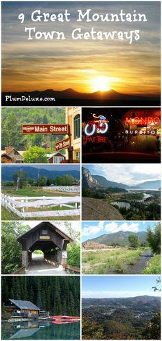 9 mountain town getaways