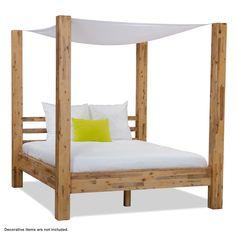 Zinnia Canopy Bed