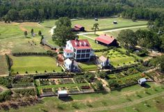 """The Garden Home Retreat - P. Allen Smith Garden Home.    The House is situated on axis with a grand old oak the cottage is designed using the Greek Revival style of architecture and constructed with modern, """"green"""" technology.  ☺ This is not just My Dream HOME! It is My Dream HOMESTEAD! ☺"""