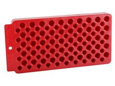 Product detail of MTM Universal Reloading Tray 50-Round Plastic  Red  need 2