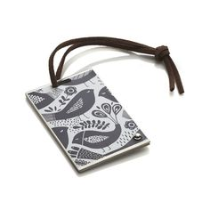 Birds Luggage Tag  | Crate and Barrel