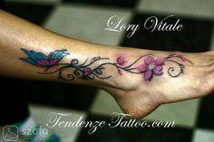 Znalezione obrazy dla zapytania tatuaż na stopie