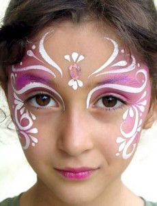 Easy face painting ideas along with some points to remember while painting  on a face. Kids love characters which are in trend. Face Paint with Mickey  mouse