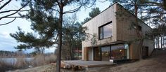 Weekend House PS / Hantabal Architekti