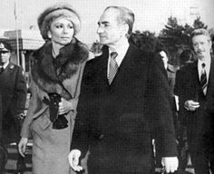 The Shah of Iran and his Empress Farah flee Iran 1979 with the Islamic Fundementalist Revolution led by the student followers of the Ayatollah Khomeini driving him from power.