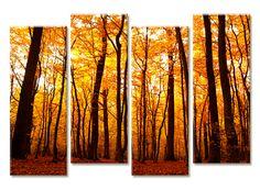 Полиптих «Таинственный лес» купить в интернет магазине Принт-Постер, цена производителя!