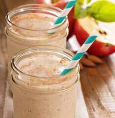 Apple Jack Shake UP ; nutribullet recipes for weight loss;nutribullet recipes we. Date Smoothie Recipes, Smoothie Drinks, Healthy Smoothies, Healthy Drinks, Healthy Eating, Drink Recipes, Healthy Meals, Smoothie Mixer, Breakfast Healthy