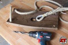 Créa DIY : Fabriquer une balançoire en fût de chêne