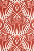 I am in love with Farrow & Ball's Lotus Papers...especially this beautiful red/coral!