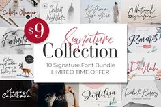 Cursive Fonts, Handwritten Fonts, Typography Fonts, New Fonts, Lettering, Alphabet Fonts, Calligraphy Fonts, Web Design, Logo Design