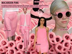 Trendstop Spring/Summer 2015 Womenswear Color Forecast Macaroon Pink with Pantone - The most beautifully curated trend forecasting website on earth!