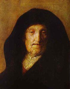 Portrait of Rembrandts Mother. Artist: Rembrendt