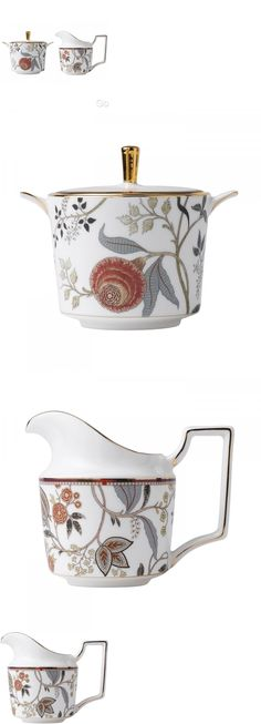 Cream and Sugar 103434: Wedgwood Pashmina Covered Sugar Bowl And Creamer New With Tag -> BUY IT NOW ONLY: $144.5 on eBay!