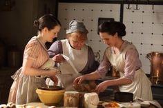 Daisy, Mrs Patmore et Lady Sybil