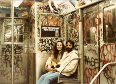 My friend posted this a long time ago, but it didn't get any love. The Subways in New York, 1980's. - Imgur