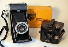 Kodak Tourist and Bulls-Eye