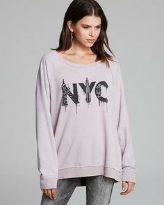 CHASER Pullover - NYC Stencil Dolman on shopstyle.com