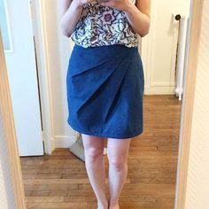 Ce we j'ai cousu cette merveille ! La jupe 1001 perles de @ivannesoufflet ! Tant la forme que les explications sont top !! #1001perles #ivannes #ivannesoufflet #jupe #couture #coutureaddict #cousumain #blogcouture #blogger #blogueusesdetours #sew #sewing #sewingblog #sewingaddict
