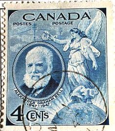 Alexander Graham Bell Canadian Stamp | Flickr - Photo Sharing!