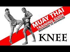 Muay Thai Knee. Muay Thai Training Guide. Beginners to Advanced - YouTube