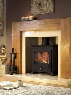 Portway 2 Traditional Multifuel Stove at Brighouse Stove Centre - a division of Discount Fireplaces of Brighouse 01484 710126 Slider Images, Wood Stove Cooking, Multi Fuel Stove, Stove Fireplace, Log Burner, Iron Doors, Dining Chairs, Home Appliances, Traditional
