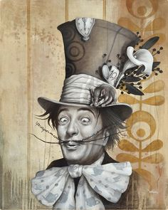 Sophie Wilkins | ACRYLIC | Alice in Wonderland | Mad Hatter