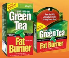 Green tea natural fat burner