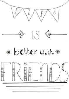 New quotes love friendship friends people 41 ideas New Quotes, Cute Quotes, Inspirational Quotes, Girl Quotes, Hand Lettering Quotes, Calligraphy Quotes, Calligraphy Letters, Brush Lettering, Doodle Quotes