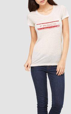 8067675b1 Saint Louis - San Francisco - SLSF - Women s retro graphic tee shirt  railroad tshirt rail