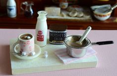 Miniature Hot Chocolate Set